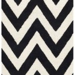 Handmade Cambridge ECGSCA0M139E Black, Ivory Wool Rug 2'6″ x 10'0″
