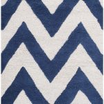 Handmade Cambridge ECGSCA0M139G Ivory, Navy Wool Rug 11'0″ x 15'0″