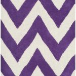 Handmade Cambridge ECGSCA0M139K Purple Wool Rug 8'0″ x 10'0″