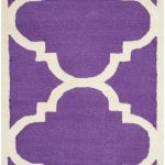 Handmade Cambridge ECGSCA0M140K Purple Wool Rug 2'6″ x 4'0″