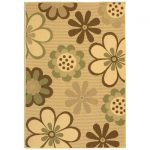 Courtyard ECGSCY04035A Natural Brown, Olive Rug 8'0″ x 11'0″