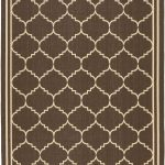 Courtyard ECGSCY06889 Chocolate, Cream Rug 2'3″ x 10'0″