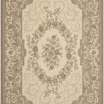 Courtyard ECGSCY07208 Cream, Green Rug 2'7″ x 5'0″