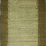 Hand-knotted Gabbeh ECGSGB0127B Assorted Wool Rug 3'0″ x 5'0″