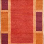 Hand-knotted Gabbeh ECGSGB0598A Assorted Wool Rug 3'0″ x 5'0″
