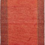 Hand-knotted Gabbeh ECGSGB0599C Assorted Wool Rug 2'0″ x 3'0″