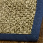 Natural Fiber ECGSNF0114E Blue, Natural SeaGrass Rug 8'0″ x 10'0″