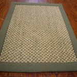 Natural Fiber ECGSNF0443C Green, Natural Sisal Rug 6'0″ x 9'0″