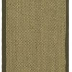 Natural Fiber ECGSNF0443C Green, Natural Sisal Rug 2'6″ x 14'0″