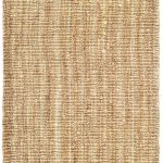 Natural Fiber ECGSNF0447A Natural SeaGrass Rug 2'6″ x 12'0″