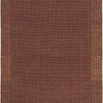 Natural Fiber ECGSNF0451A Brown, Rust Sisal Rug 4'0″ x 6'0″