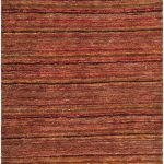 Hand-knotted Organica ECGSOR0G212A Multi, Red Jute Rug 8'0″ x 10'0″