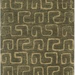 Handmade Soho ECGSSO0H416C Brown, Gold Wool Rug 5'0″ x 8'0″