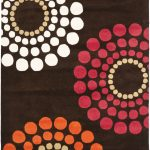 Handmade Soho ECGSSO0H788B Brown, Multi Wool Rug 5'0″ x 8'0″