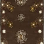 Handmade Soho ECGSSO0H823A Brown, Multi Wool Rug 5'0″ x 8'0″