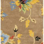 Handmade Soho ECGSSO0H847A Brown, Multi Wool Rug 5'0″ x 8'0″