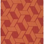 Hand woven Thom Filicia ECGSTM0F124A Blood, Orange Rug 5'0″ x 8'0″