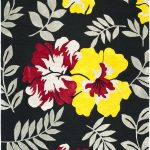 Hand hooked Wilton ECGSWI0L337A Black, Multi Wool Rug 3'9″ x 5'9″
