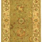 Handmade Antiquities ECGSAT021D Sage Wool Rug 2'3″ x 12'0″